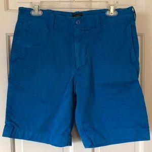 J. Crew Stanton shorts in bright blue